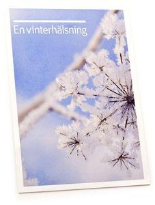 Bild på Vykort Vinterhälsning