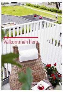 Bild på Vykort Välkommen hem - balkong