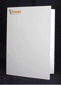 Bild på Mapp - Bonum, vit